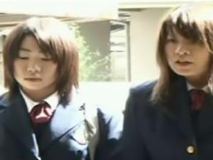 Japanese Teens Rape a Nerdy Girl