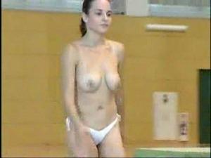 Topless gymnastics