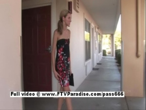 Pretty girl Tina, amateur blond ... free