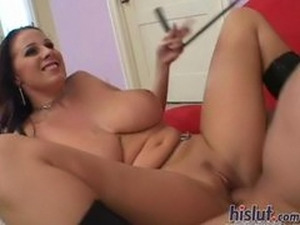 Gianna orgasms several times