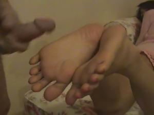 Thitirat - Foot Job 2