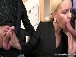 Job interview leads to threesome free