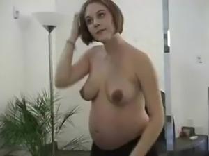 lactating pregnant masturbation