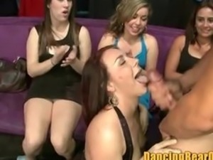 These Chicks are Thirsty for Some Stripper Jizz