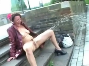 Upskirt public masturbation and ... free