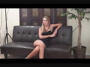 Broke Cute Blonde Amateur earns some money