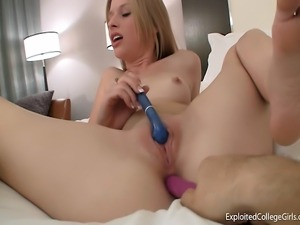 College Girl's New Sex Toys