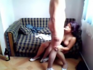 My milf neigbour lydia is married but she does not have enough to 1 dick....
