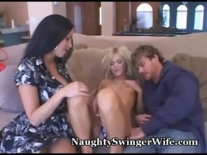 Stacked Wifey Shares Hubby With ... free
