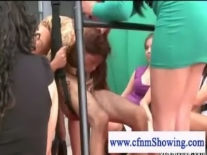 Cfnm show blowjob on the public ... free