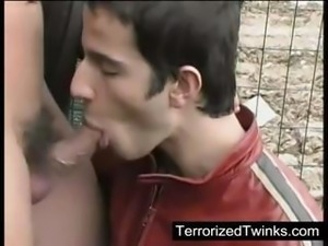 Twink fucked good in his mouth and ass