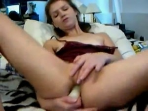 HornyBISlut: anal toying, gaping, fisting on the webcam