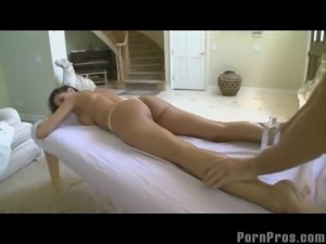 Hot Big Tit Bombshell Massage