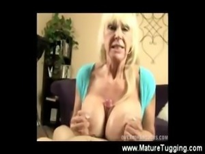 Mature goes crazy spoiling the cock