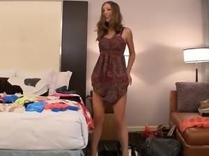 Undressing and fucking in clothes