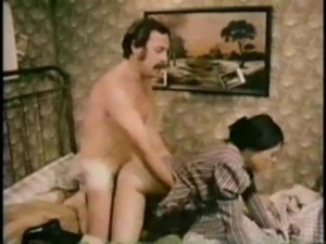 Janine and man in his room free
