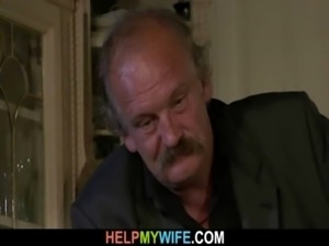 Hot wife sucks and fucks stranger free
