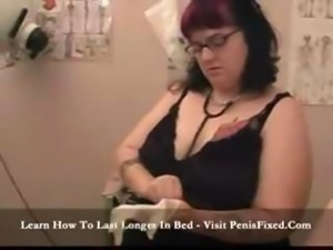 Lubricated Lesbian Doctor Visit