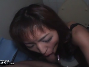 Uncensored hardcore Asian fetish footage from Japan.  Very erotic sex scene...
