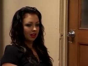 Busty Chloe Dior job interview