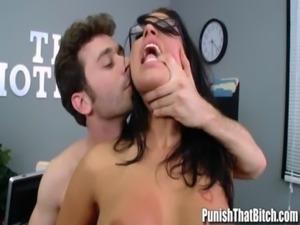 Eva Angelina Rough Sex with Bos ... free