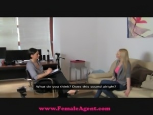 FemaleAgent Big breast casting free