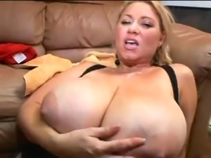 Samantha 38G - Real Big Tits 35