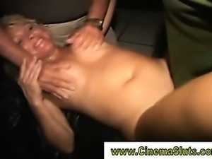 Public amateur movie slut fucks hard cock