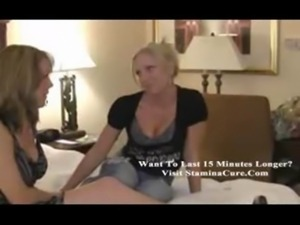 Two Horny Milf Licking Bed free