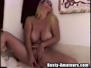 Heather getting nasty on the tub