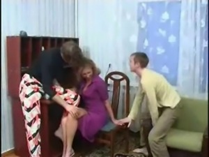 2 Sons Fuck their Mom's Pussy a ... free