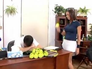 Rachel Starr Fucks After A Tennis Game