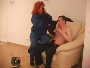 Big Juggs Mature Has Sex With Her Young Boss