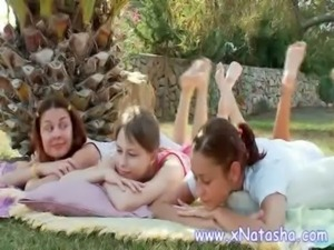 Lesbian teens having fun free