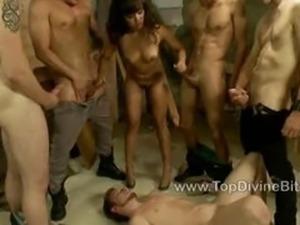 Annie humiliates her cuckold boyfriend