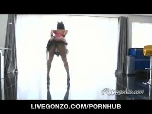 Lisa Ann Live themed Show on LiveGonzo