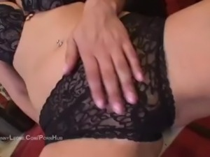 Sunny Leone Playing With Her Tits and Pussy in The Red ROOM!