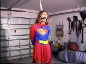 supergirl hanging  free
