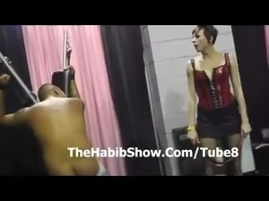 Exxxotica Chicago Marine gets a beat down by fine freaks P2