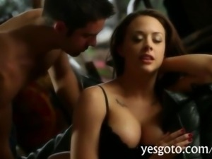 Sizzling beauty Chanel Preston banged so soft