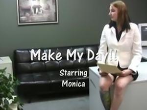 Monica Hot Handjob