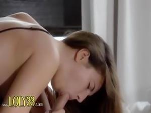 french busty brunette fucking in bedroom