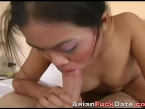 Creampie Asian Brunette Girl