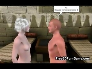 3D cartoon doctor fucking his sexy patient multiple times