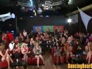 Crazy Amateur Sluts at the Dancing Bear Orgy Club