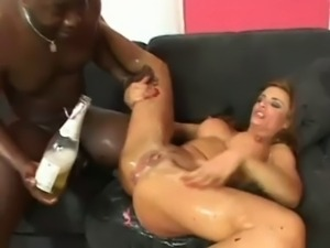 CRAZY ORGY - DP Interracial Squirting Fisting Swallowing