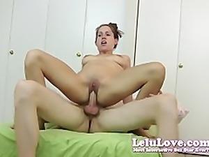 Lelu LoveBlowjob Reverse Riding Creampie Drip