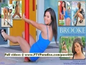 Brooke amazing brunette babe ma ... free