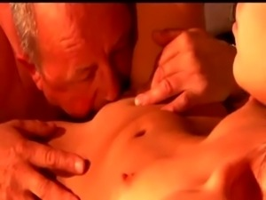 Nasty younger slut eats older free