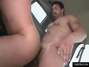 Big muscle guys decide to fuck